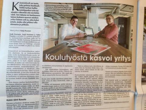 KiinteistöVELI Lauttasaari-lehdessä